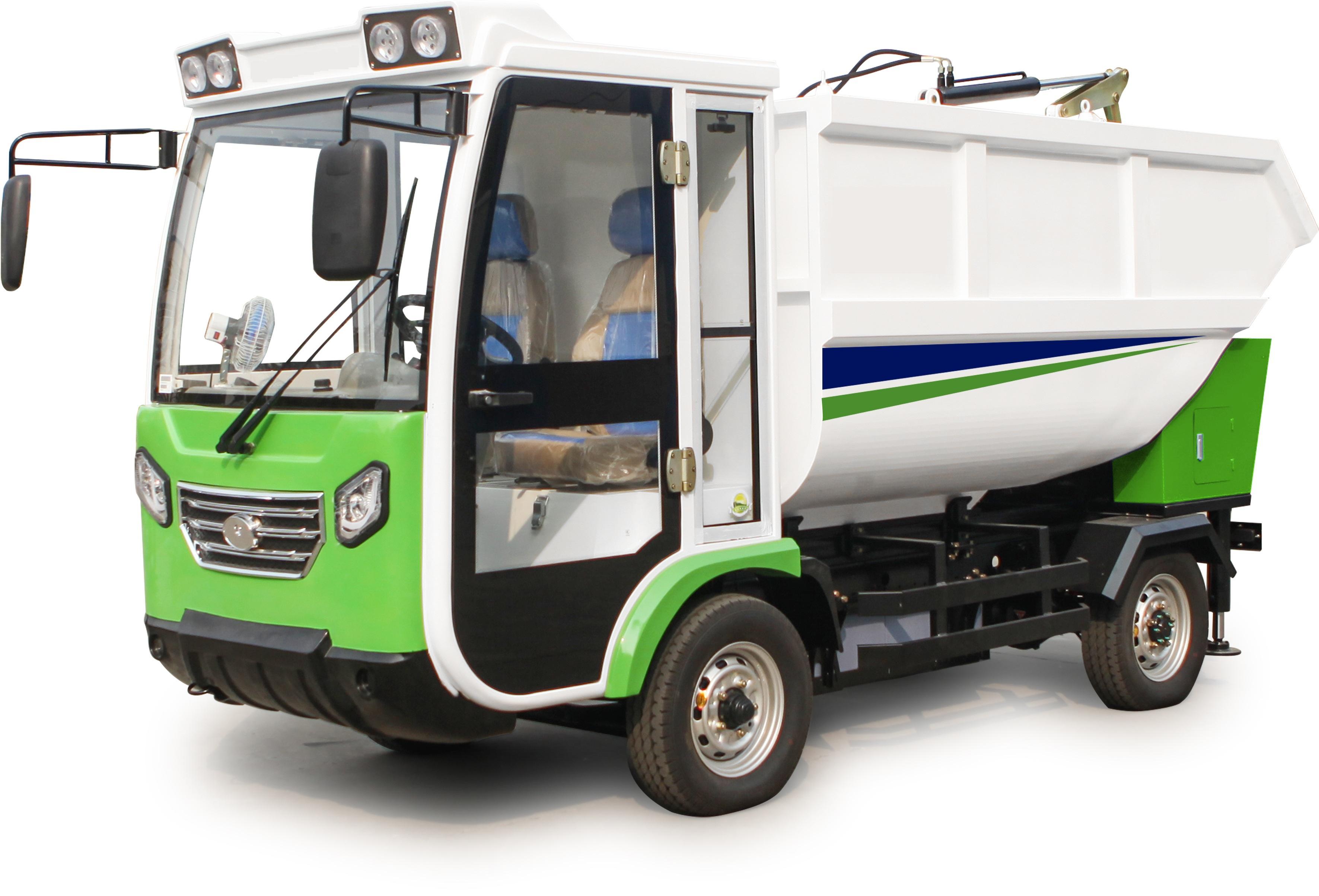 Xe điện chở rác 4 bánh