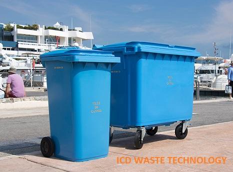 Thùng rác nhựa CONTENUR