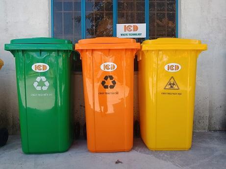 Thùng rác nhựa ICD