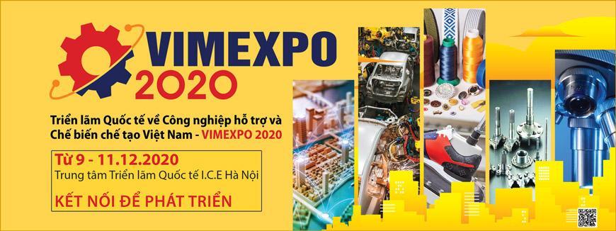 ICD sẽ tham gia Triển lãm Công nghiệp hỗ trợ và Chế biến chế tạo Việt Nam VIMEXPO-2020