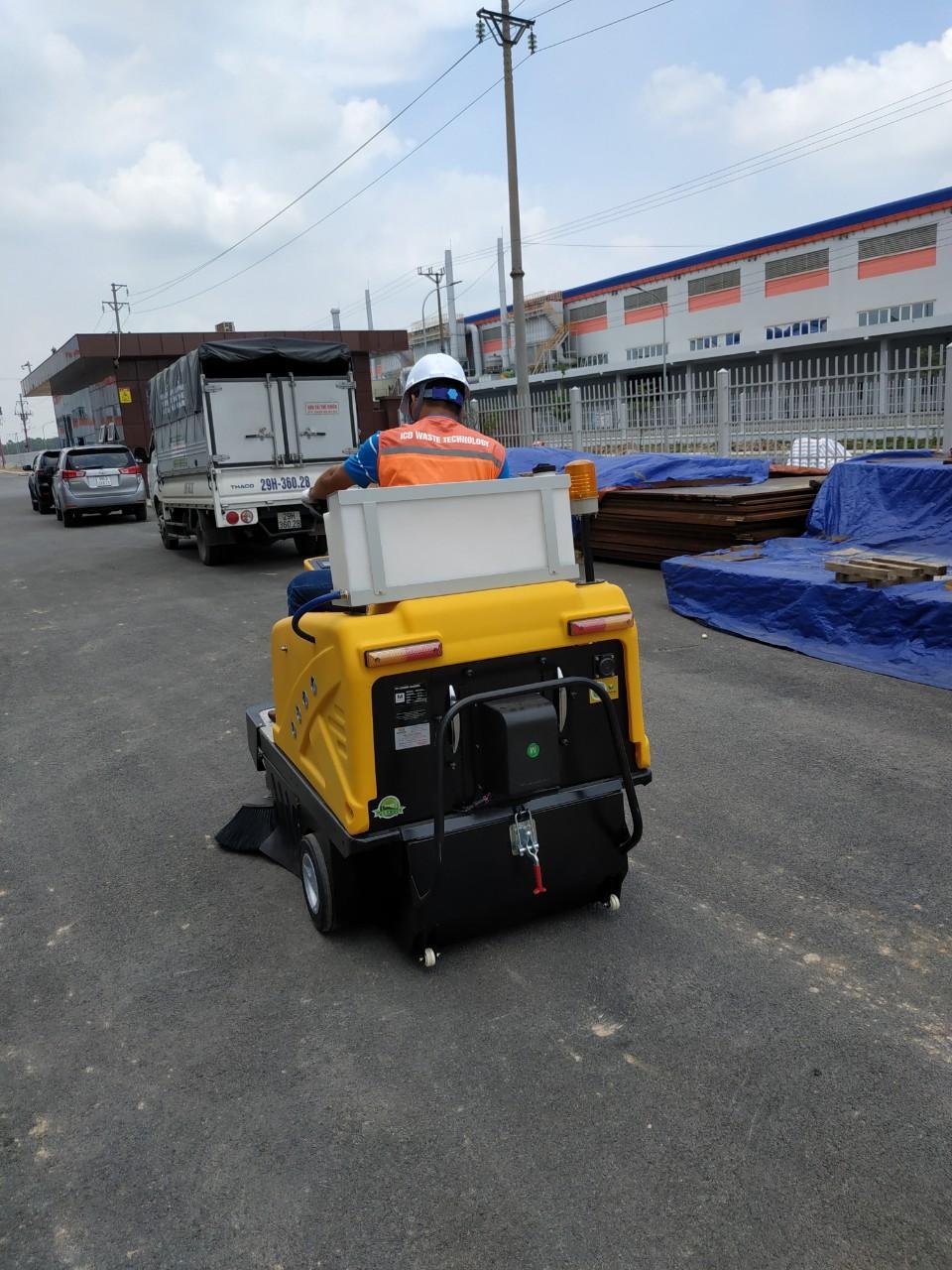 Nhà máy Seojin Bắc Giang - Máy quét công nghiệp nhà xưởng Magnum C200
