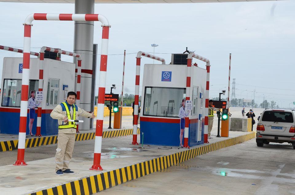 Dự án đường cao tốc Hà Nội-Hải Phòng: Sản xuất và lắp đặt Cabin thu phí giao thông tại các nút ra vào đường cao tốc