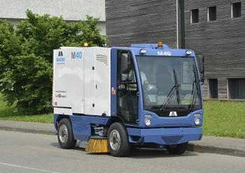 Xe quét đường đô thị MACRO M40 nhập khẩu từ Italia
