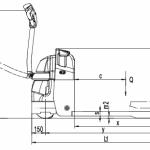 Xe nâng điện tay thấp EPT20-18EA